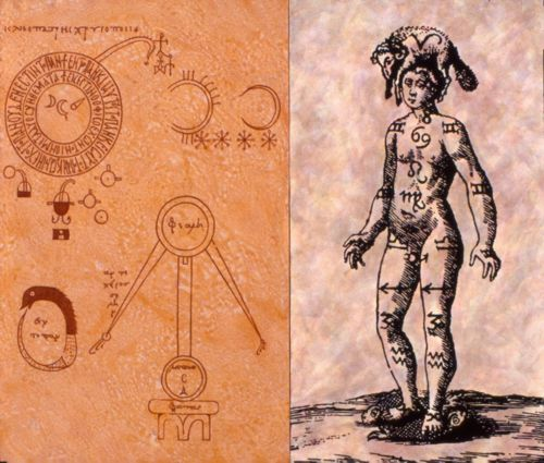 Chrysopoeia and the Zodiac Man -