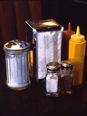 Condiments with Napkins -